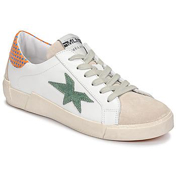 Sko Dame Lave sneakers Meline NK1364 Hvid / Grøn