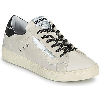 Sko Dame Lave sneakers Meline CAR139 Beige / Sort