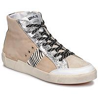 Sko Dame Lave sneakers Meline NK1384 Beige / Zebra