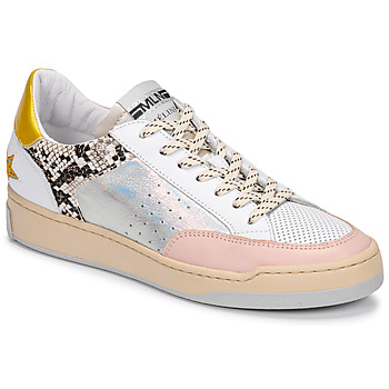 Sko Dame Lave sneakers Meline BZ180 Hvid / Pink