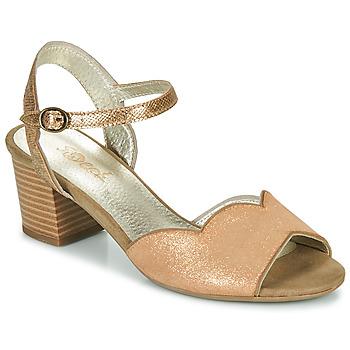 Sko Dame Sandaler Sweet GOLFE Guld