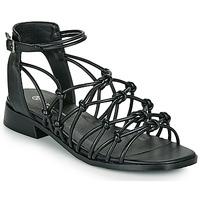 Sko Dame Sandaler The Divine Factory LS1793H Sort