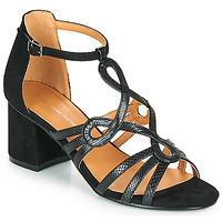Sko Dame Sandaler The Divine Factory QL4327 Sort