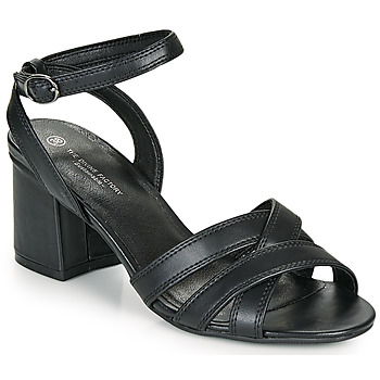 Sko Dame Sandaler The Divine Factory LS2115 Sort
