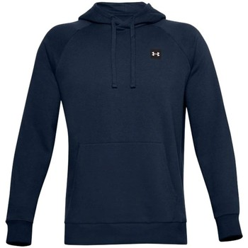 textil Herre Sweatshirts Under Armour Rival Fleece Hoodie Flåde