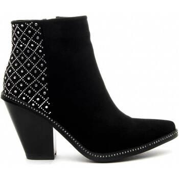 Sko Dame Høje støvletter Azarey 68728 BLACK