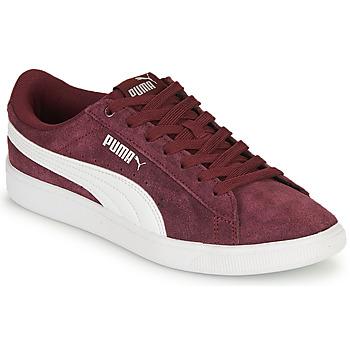 Sko Dame Lave sneakers Puma VIKKY Bordeaux