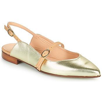 Sko Dame Ballerinaer Fericelli SUSANNA Guld
