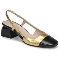 Sko Dame Højhælede sko Fericelli TOUBET Guld / Sort