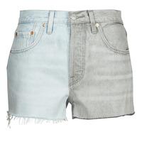 textil Dame Shorts Levi's ICE BLOCK Blå / Grå