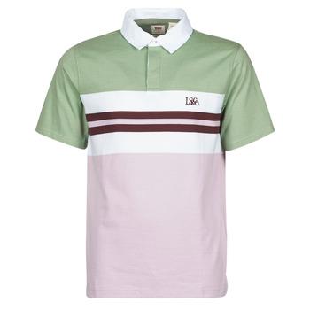 textil Herre Polo-t-shirts m. lange ærmer Levi's FRESH STRIPE LAVENDER FROST Violet