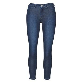 textil Dame Jeans - skinny Lee SCARLETT WHEATON Blå