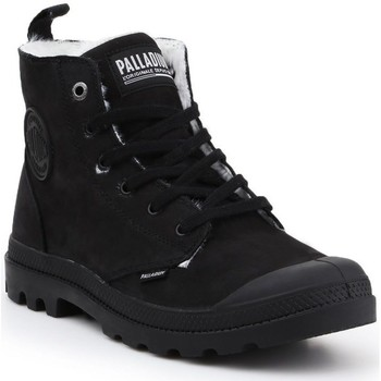 Sko Herre Høje sneakers Palladium Manufacture Pampa HI Zip WP M Sort