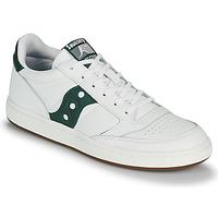 Sko Herre Lave sneakers Saucony JAZZ COURT Hvid / Grøn
