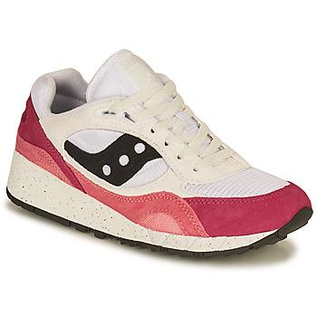 Sko Dame Lave sneakers Saucony SHADOW 6000 Hvid / Pink