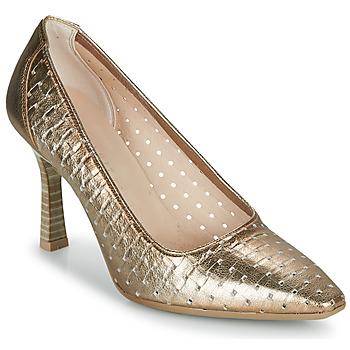 Sko Dame Højhælede sko Hispanitas FRIDA-7 Guld