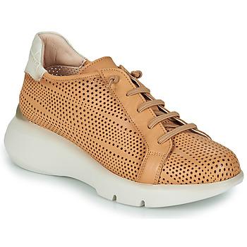 Sko Dame Lave sneakers Hispanitas TELMA Kamel / Beige