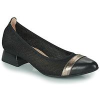 Sko Dame Højhælede sko Hispanitas ADEL Sort / Sølv