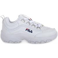 Sko Børn Lave sneakers Fila Strada Low Junior Hvid