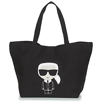 Tasker Dame Shopping Karl Lagerfeld K/IKONIK KARL TOTE Sort