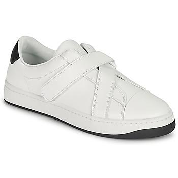 Sko Dame Lave sneakers Kenzo ENZO KOURT SCRATCH SNEAKERS Hvid
