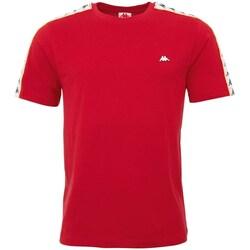 textil Herre T-shirts m. korte ærmer Kappa Hanno Rød