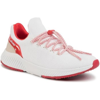 Sneakers S.Oliver  White Red Flat Shoes