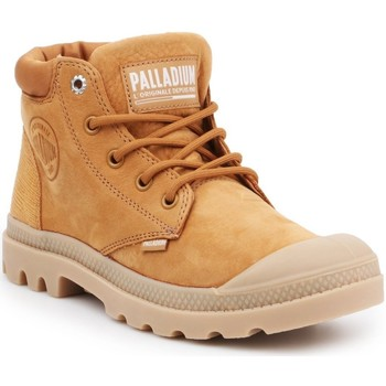 Sko Dame Høje sneakers Palladium Pampa LO Cuff LEA 95561-717-M brown