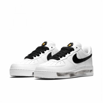 Sko Lave sneakers Nike Air Force 1 Low Parra-Noise White/Black-White