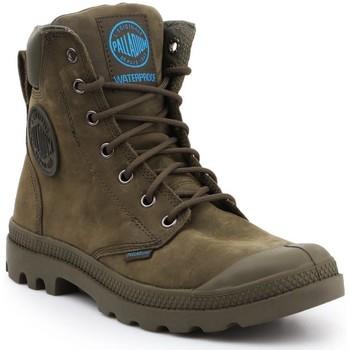 Sko Høje sneakers Palladium Manufacture Pampa Cuff WP LUX 73231309 olive green