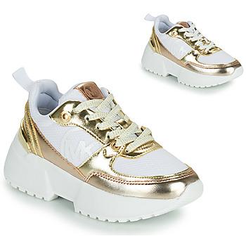 Sko Pige Lave sneakers MICHAEL Michael Kors COSMO SPORT Hvid / Guld