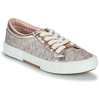 Sko Pige Lave sneakers MICHAEL Michael Kors IMA TINSEL Pink / Guld / Sølv