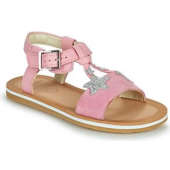 Sko Pige Sandaler Clarks FINCH SUMMER K Pink