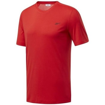 textil Herre T-shirts m. korte ærmer Reebok Sport Wor Comm Tech Tee Rød