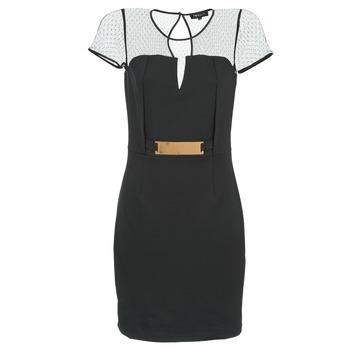 textil Dame Korte kjoler Morgan ROULA Sort