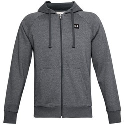 textil Herre Sweatshirts Under Armour Rival Fleece FZ Hoodie Grå