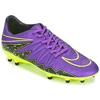 Sko Herre Fodboldstøvler Nike HYPERVENOM PHELON II FG Violet