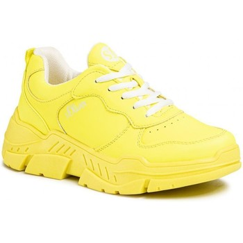 Sneakers S.Oliver  Neon Yellow Flat Shoes