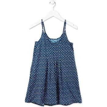 textil Pige Korte kjoler Losan 714 7017AB Blå