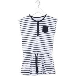 textil Pige Korte kjoler Losan 714 7044AB Blå