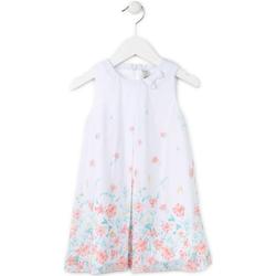 textil Pige Korte kjoler Losan 716 7784AD hvid