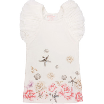 textil Pige Korte kjoler Primigi 37113571 hvid