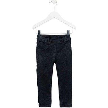 textil Pige Lærredsbukser Losan 726 9000AD Blå