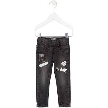 textil Pige Smalle jeans Losan 726 6032AD Sort