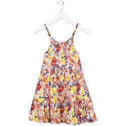 textil Pige Korte kjoler Losan 814-7028AB Orange