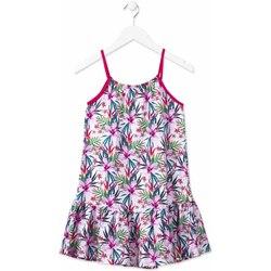 textil Pige Korte kjoler Losan 814-7043AB Lyserød