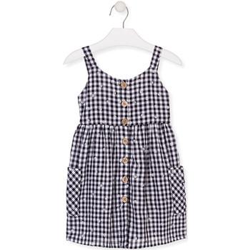 textil Pige Korte kjoler Losan 016-7002AL Blå