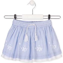 textil Pige Nederdele Losan 016-7060AL Blå