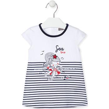 textil Pige Korte kjoler Losan 018-7000AL Blå