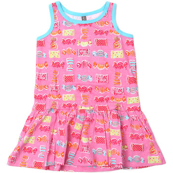 textil Pige Korte kjoler Losan 816-7044AD Lyserød